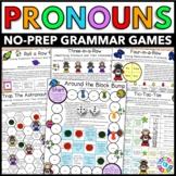 Pronouns Games (Subject Pronouns, Object Pronouns, Possess