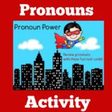 Pronoun Worksheets Activity