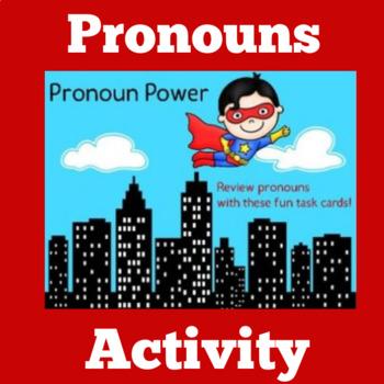 Pronoun Activity