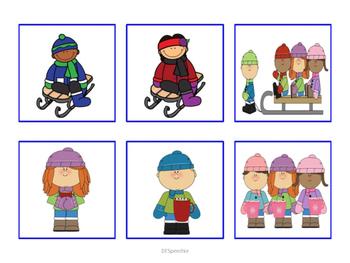 Pronouns & Actions Winter Edition