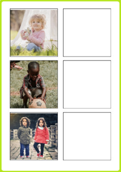 Pronouns Activity for Special Education