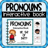 Pronouns Adapted Book (He, She, They)