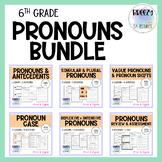 Pronouns BUNDLE - Print & Digital - CCSS: L.6.1.A, L.6.1.B