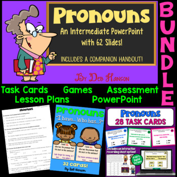 Pronouns Bundle of Activities