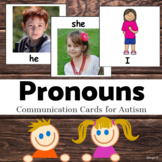 Pronouns Cards for Autism, Autism Visuals
