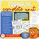 Pronouns Complete Unit Bundle - CCSS Aligned