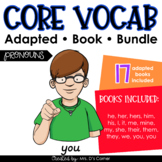 Pronouns Core Vocabulary Adapted Book Bundle [Level 1 and