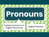Pronouns Digital Practice FREE