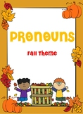 Pronouns: Fall Theme