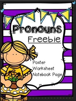 Pronouns Freebie