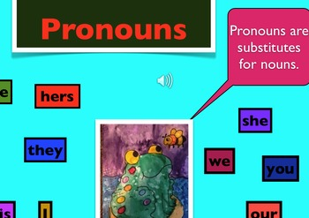 Pronouns Galore