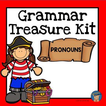 Pronouns Grammar Treasure Kit