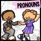 Subjective Pronouns •  speech therapy pronouns • Possessive Pronouns