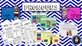 Pronouns: He & She