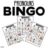 Pronouns He She They BINGO