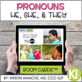 Pronouns: He, She, They BOOM CARD™ Deck - Distance Learning