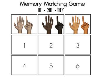 Making NUMBERS 1-6 BINGO Matching Game