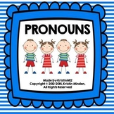 Pronouns-He/She/They