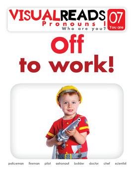 Pronouns I. 07 You are (professions). Reading Book+Workbook+Flashcards