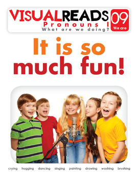 Pronouns I. 09 We are (people). Reading Book+Workbook+Flashcards