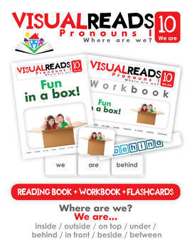 Pronouns I. 10 We are (prepositions). Reading Book+Workbook+Flashcards