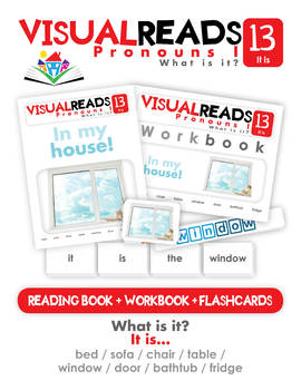 Pronouns I. 13 It is (objects). Reading Book+Workbook+Flashcards