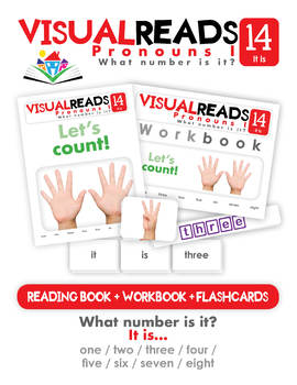 Pronouns I. 14 It is (numbers). Reading Book+Workbook+Flashcards