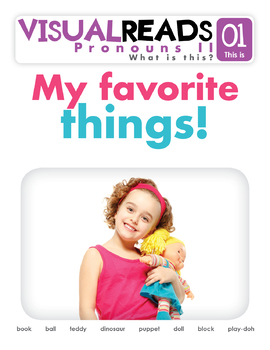 Pronouns II. 01 This is (toys). Reading Book+Workbook+Flashcards