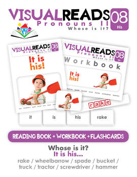 Pronouns II. 08 His (objects). Reading Book+Workbook+Flashcards