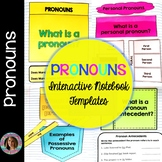 Pronouns Interactive Notebook