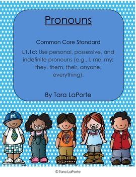 Pronouns L1.1d