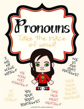 Pronouns Language Arts Packet