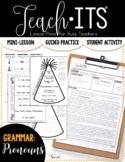 Pronouns Lesson Plan