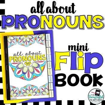 Pronouns Mini Flip Book