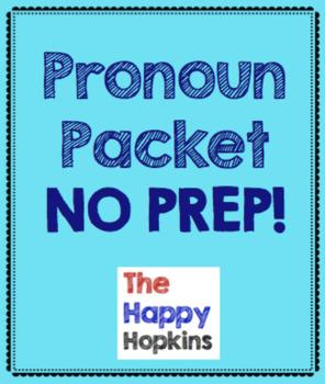 Pronouns NO PREP Packet