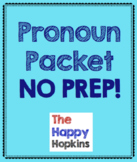 Pronouns NO PREP Packet