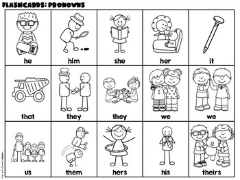 Pronouns {No Prep Practice}