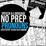 Pronouns {No Prep Practice}