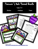 Parts of Speech ( Pronouns )  Owls Themed Posters \ Activities \ Worksheets
