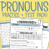 Pronouns Packet + Test
