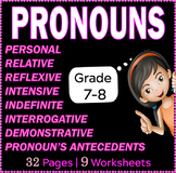 Pronouns | Personal | Relative | Reflexive | Intensive and