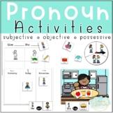 Pronouns- Subjective, Objective, and Possessive Pronouns