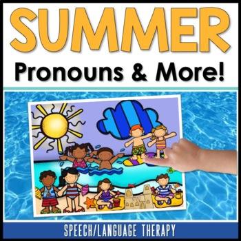 Pronouns, Places & Possessives: Summer