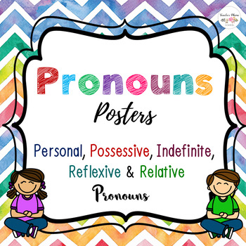 Pronouns Posters Free