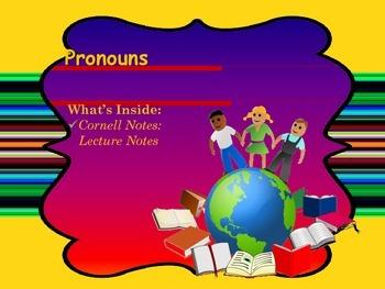 Pronouns Power Point Presentation