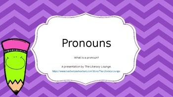 Pronouns PowerPoint