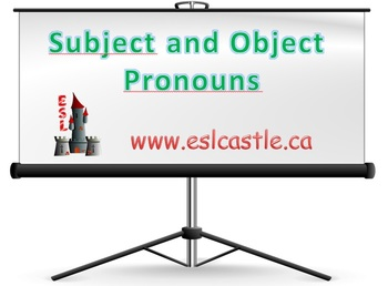 Subject & Object Pronouns PowerPoint Course Notes