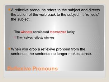 Pronouns PowerPoint - Part Two