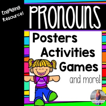 Pronouns Printables: Activities, Games, Posters, Worksheets