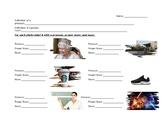 Pronouns, Proper Nouns, and Nouns practice